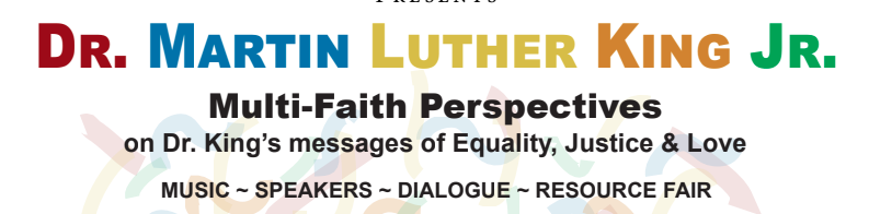 MLK Bridges: Faith Perspectives On Dr. King